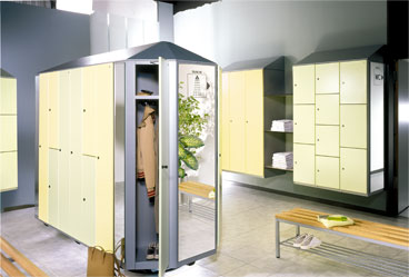 Cambio-Channging-Room-Locker-Yellow