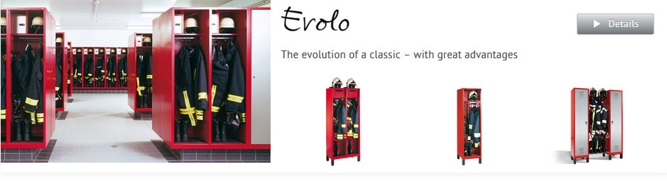 Evolvo Fire Service Lockers