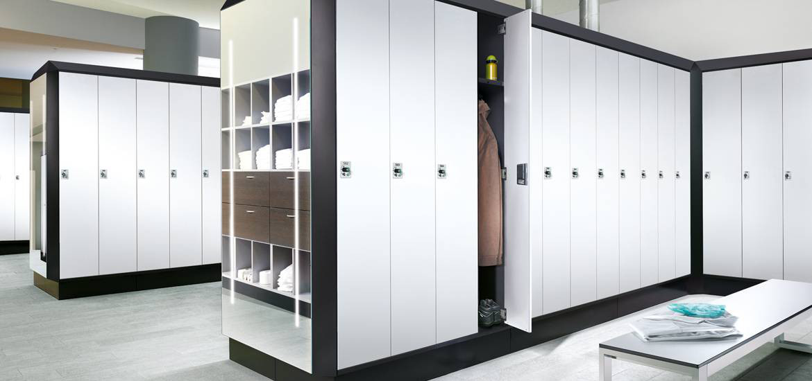 Swimming Pool Locker Room Lockers