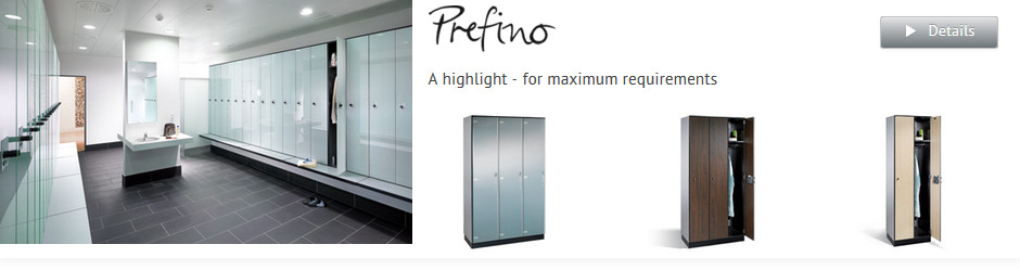 Prefino Lockers