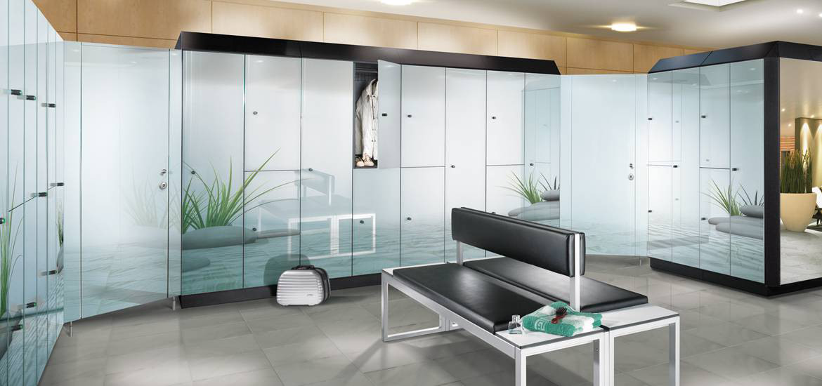 Lockers for gyms, sports and health clubs
