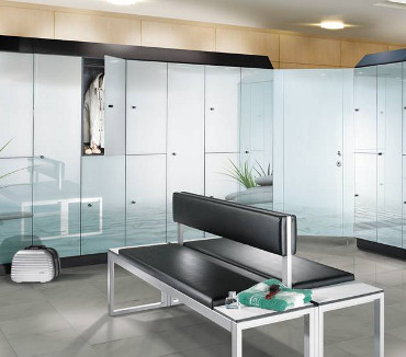Lockers for gyms, sport and health clubs